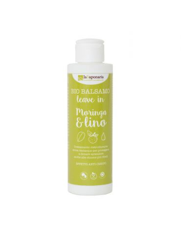 Balsamo Leave in Moringa & Lino Biologico 150ml - La Saponaria