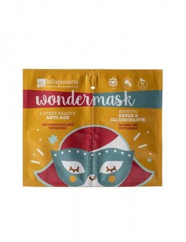 Wondermask - Maschera 2 Steps Beauty anti-age - La Saponaria