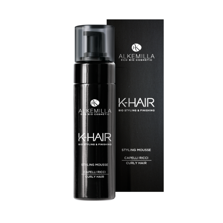 Styling Mousse Capelli Ricci Linea K-Hair by Alkemilla